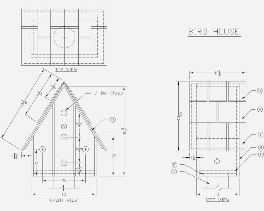 Screen House Plans Wood Arts